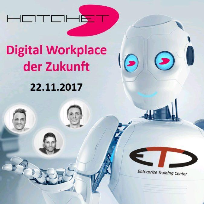 PRESSE | HATAHET Digital Workplace Event mit ETC und dox42