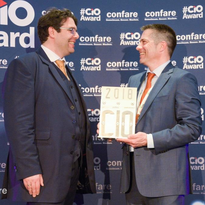 HATAHET Freitagsfrage / Preisträger Dr. Martin Buresch CIO Award 2018 mit Michael Ghezzo