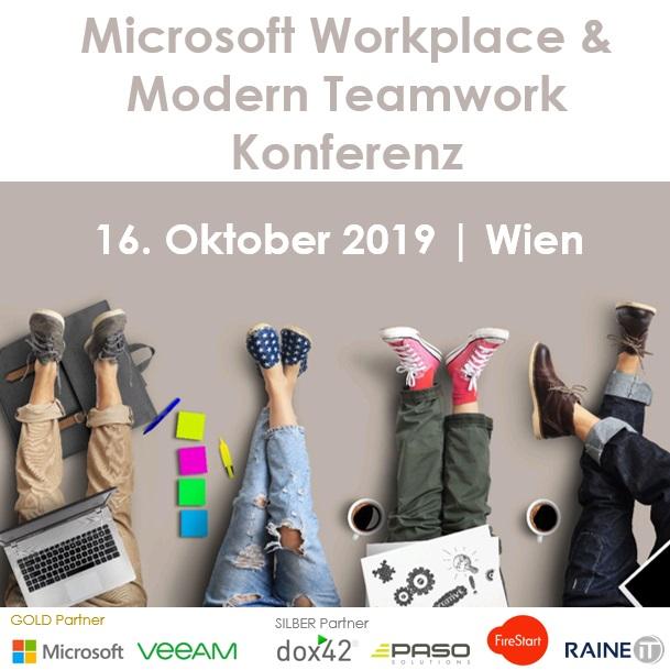 EVENT | Microsoft Workplace & Modern Teamwork Konferenz